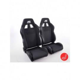 FK sport seats half bucket seats Set Racecar with heating