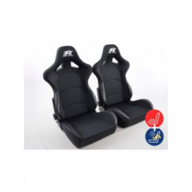 FK sport seats half bucket seats Set Control with heating and massage