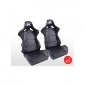 FK sport seats half bucket seats Set Control with heating