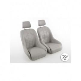 FK Sports car bucket seat set in Retro-Look