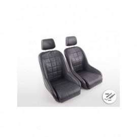 FK Sports car bucket seat Set in Motorsport-look