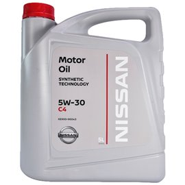 5W30 NISSAN SYNTHETIC C4 5L
