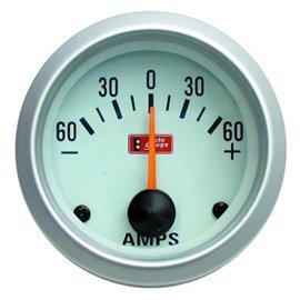 "Autogauge AMPERMETER 2"" (51mm) -60 - +60A"
