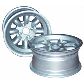 "Rally Design13x8"" Alloy Wheel - STD Ford Inserts"