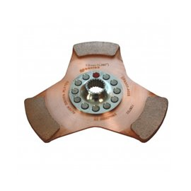 ceramic metal clutch disc 23h x 25.40 184MM