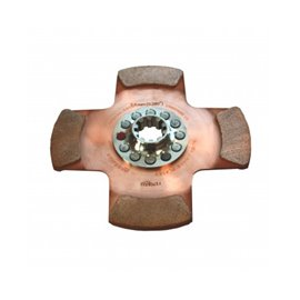 ceramic metal clutch disc 24h x 25,40 184MM