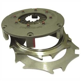 184mm paddle clutch assy: twin plate lug drive (green) 263nm