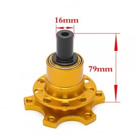 CNR quick release hub GOLD (weldable)