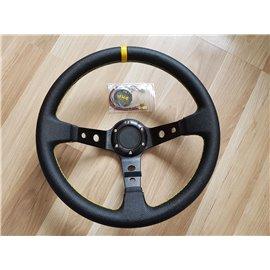 """350mm steering wheel, depth 3"""" (76mm)"""