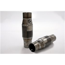 76mm 100 cells metallic catalytic converter Ø100 SBF/FIA approved