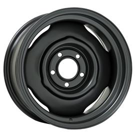 "15x8 OE Chrysler Black | 5x4.5"" bolt | 4"" backspace"