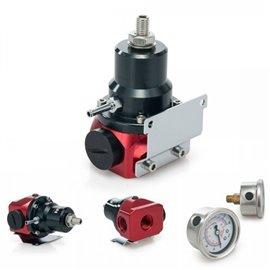 CNR fuel pressure regulator with gauge TYPE 3