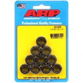 """1/4""""-28 black coarse hex nut kit"" (5pcs)"