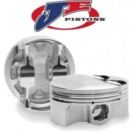 JE-Pistons Kit Honda K24A+K20A/Z(14.2:1/12.5:1)87.00mm Asym.