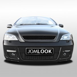 Front bumper in sports design suitable for Opel Astra G T98, Coup??, Cabriolet, 3 und 5 T??rer