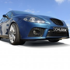 Front Bumper in sports-design suitable for Seat Leon year 2005 - 2009 ( not for facelift)