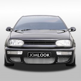 Front bumper in racing design suitable for VW Golf 3