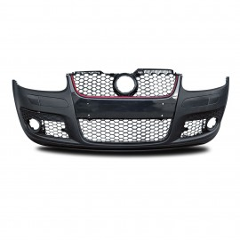 Front bumper in sports design with honeycomb grill suitable for VW Golf 5