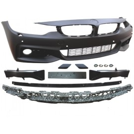 Front bumper JOM BMW 4er coupe ( F32)/ Cabrio (F33)/ Gran Coupé (F36), Sport-Look, mit SRA, PDC, PP