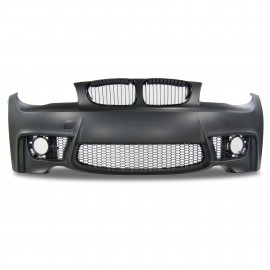 Front bumper with grille suitable for BMW 1er E81, E82 and E87 year 2004 - 2011