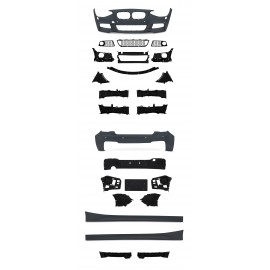 Bod Kit in incl. side skirts with PDC holes and HCS suitable for BMW 1er F20 year 2011-2015