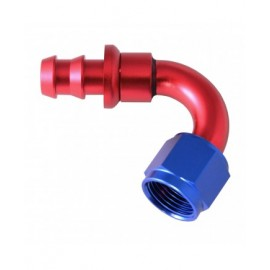 HOSE END PUSH-ON 120 BEND AN6