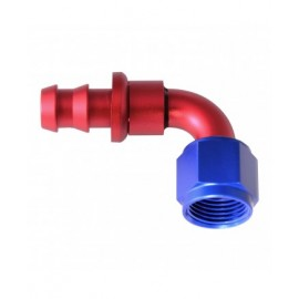 HOSE END PUSH-ON 90 BEND AN8