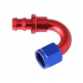 HOSE END PUSH-ON 150 BEND AN8