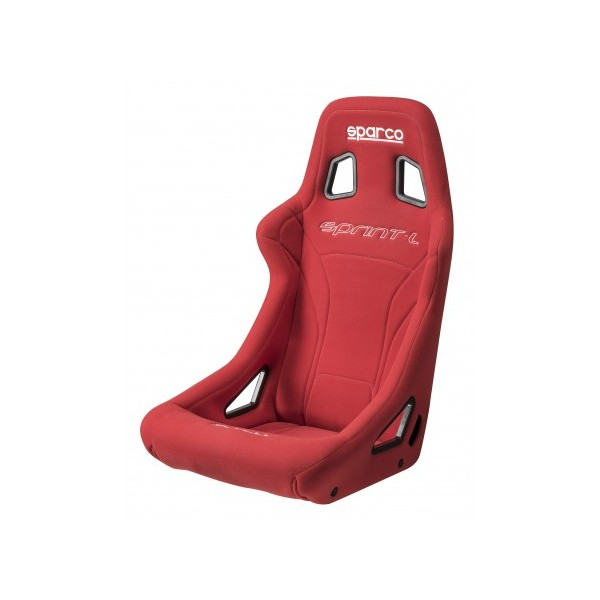 SPARCO Sprint Seat with steel tubular frame RED