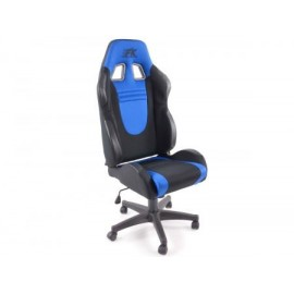 Office Chair Racecar black/blue