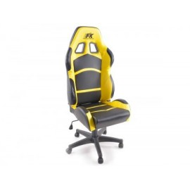 Office Chair Cyberstar black/yellow