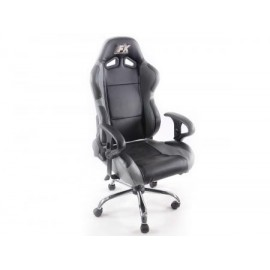 office chair sport seat with Armrests colour black grey