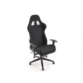 Office Chair Sport Seat with armrest imitation leather black