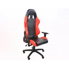 FK sport seat office chair gaming seat Liverpool black/red swivel chair revolving chair
