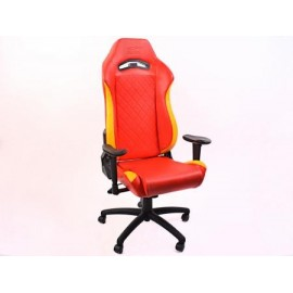 FK sport seat office chair gaming seat Liverpool red/yellow swivel chair revolving chair