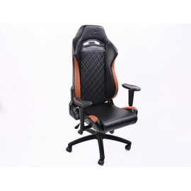 FK sport seat office chair gaming seat Liverpool black/brown swivel chair revolving chair