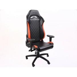 FK sport seat office chair gaming seat Liverpool black/orange swivel chair revolving chair