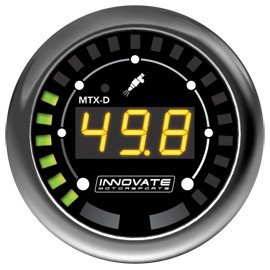 Innovate MTX-D: Fuel Pressure (0-145 PSI, 10 BAR)